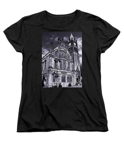 Derry Guildhall Women's T-Shirt (Standard Cut) by Nina Ficur Feenan