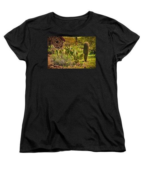 Women's T-Shirt (Standard Cut) featuring the photograph Desert Dream by Mark Myhaver