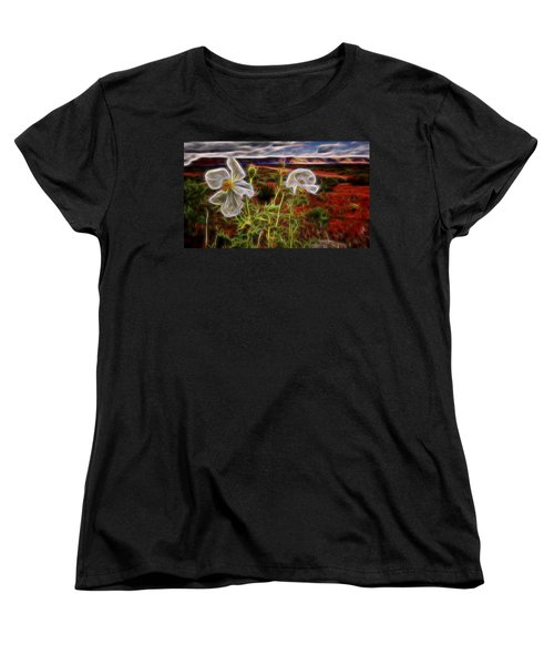 Desert Primrose 2 Women's T-Shirt (Standard Cut) by William Horden