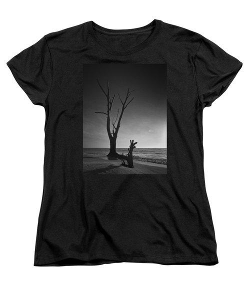 Deserted Beach Sunset Women's T-Shirt (Standard Cut)