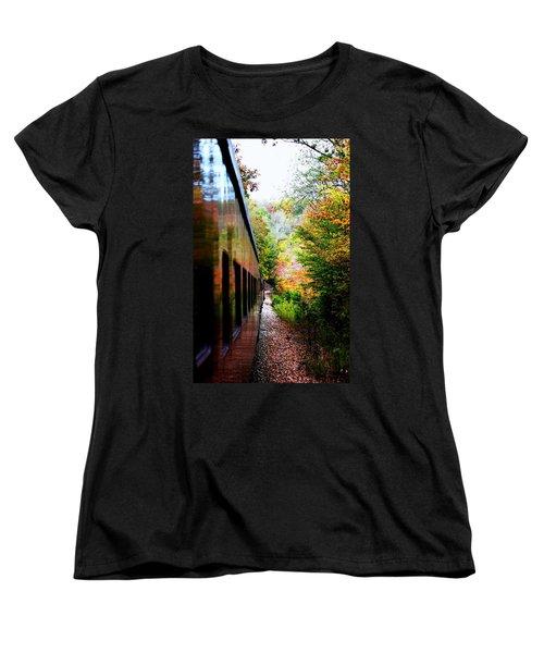 Women's T-Shirt (Standard Cut) featuring the photograph Destination by Faith Williams