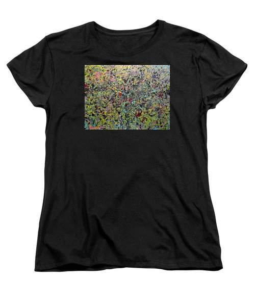 Women's T-Shirt (Standard Cut) featuring the painting Devisolum by Ryan Demaree
