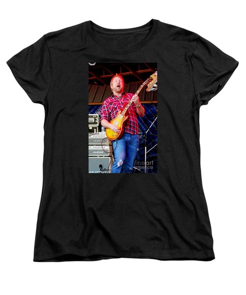 Devon Allman Women's T-Shirt (Standard Cut) by Angela Murray