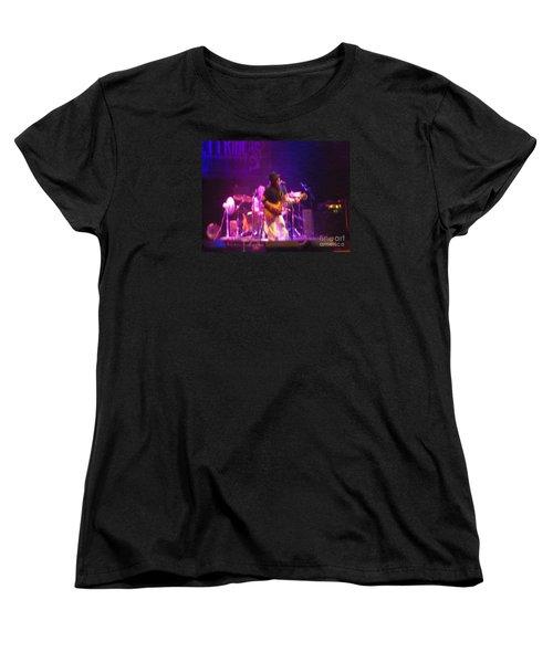 Devon Allman Women's T-Shirt (Standard Cut) by Kelly Awad