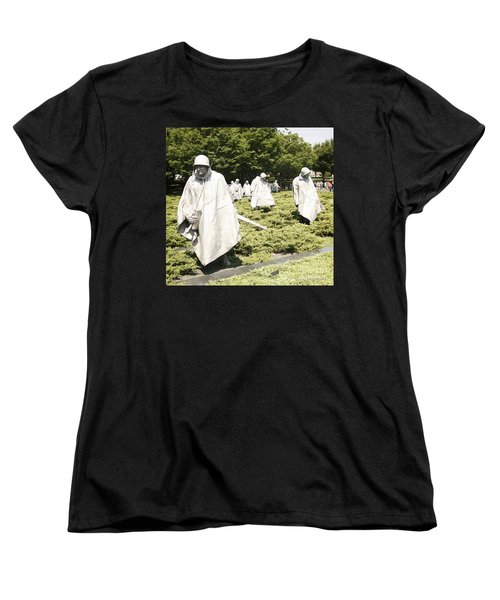 Women's T-Shirt (Standard Cut) featuring the photograph Different Realities by Carol Lynn Coronios