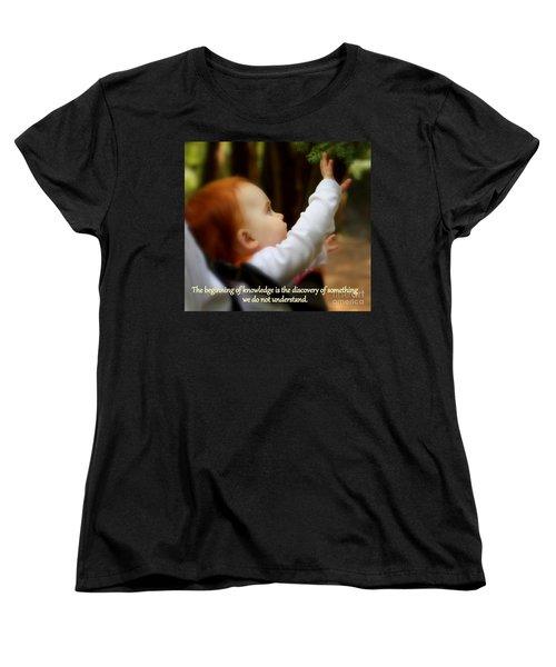 Discovery Women's T-Shirt (Standard Cut) by Patti Whitten