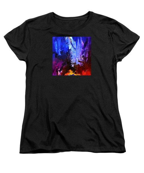 Distant Light Women's T-Shirt (Standard Cut) by Kume Bryant