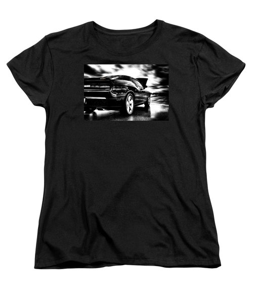 Dodge Challenger Srt In Hdr Women's T-Shirt (Standard Cut)