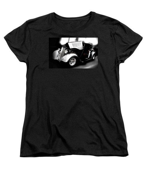 Vintage Car Women's T-Shirt (Standard Cut) featuring the photograph Dodge Power by Aaron Berg