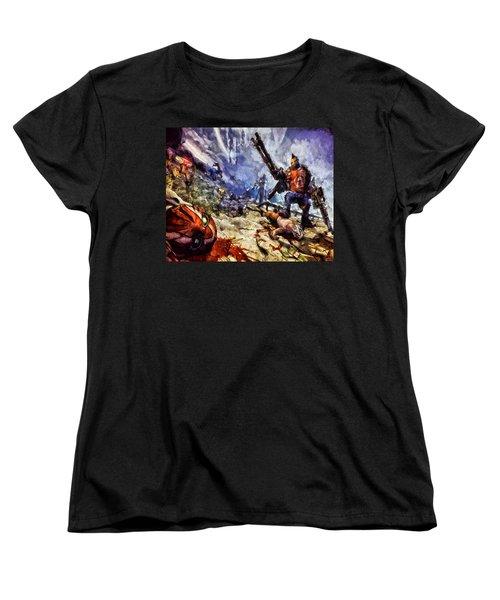 Don't Mess With The Gunserker Women's T-Shirt (Standard Cut) by Joe Misrasi