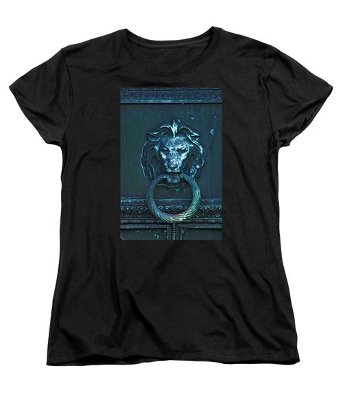 Door Knocker Women's T-Shirt (Standard Cut) by Rowana Ray