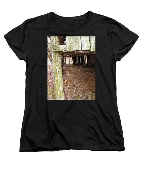 Women's T-Shirt (Standard Cut) featuring the photograph Doorway To The Past by Nick Kirby