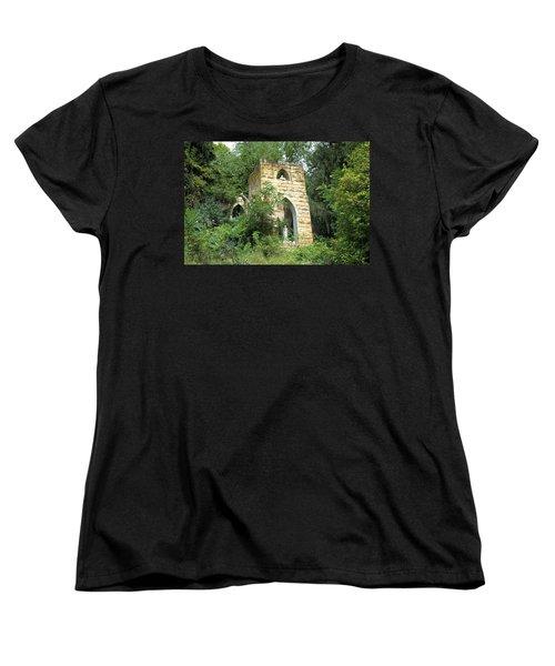 Dorchester Grotto Women's T-Shirt (Standard Cut) by Bonfire Photography