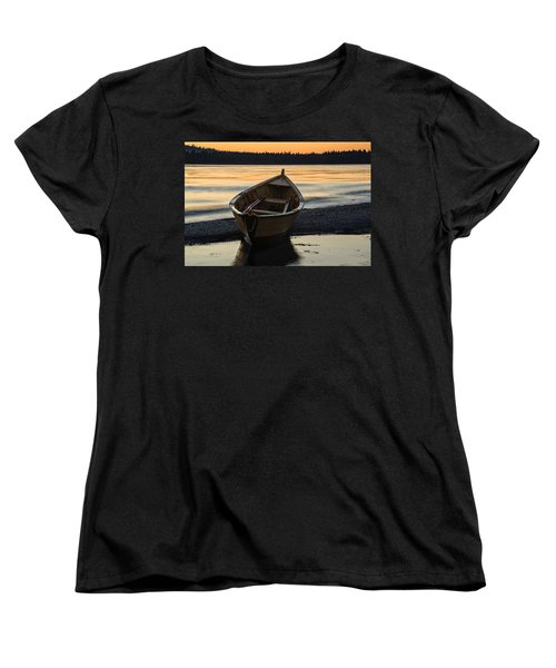 Women's T-Shirt (Standard Cut) featuring the photograph Dory At Dawn by Marty Saccone