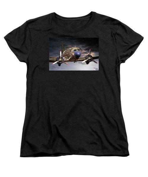 Douglas Dc 3 Women's T-Shirt (Standard Cut) by John Haldane