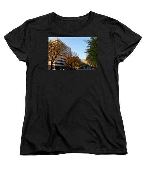 Downtown Chattanooga Women's T-Shirt (Standard Cut) by Melinda Fawver