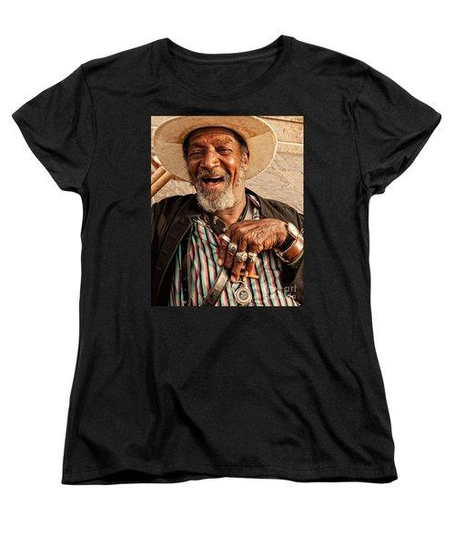 Dr. Luv New Orleans Women's T-Shirt (Standard Cut) by Kathleen K Parker