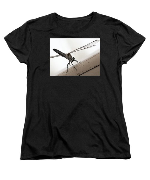 Women's T-Shirt (Standard Cut) featuring the photograph Dragon Of The Air  by Micki Findlay