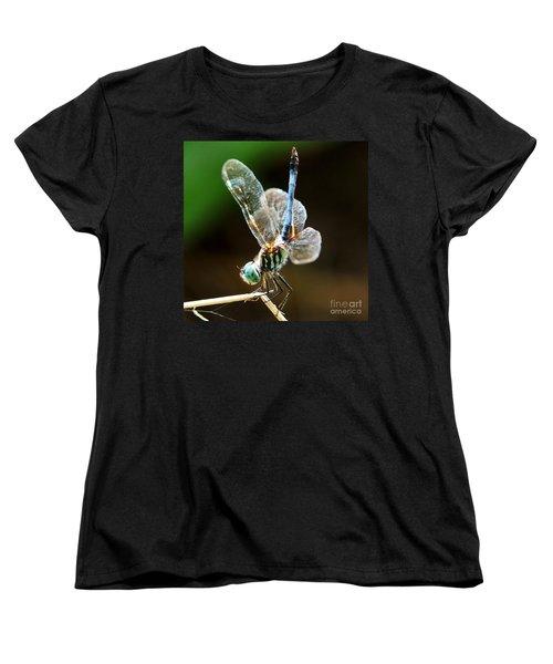 Dragonfly Headstand Women's T-Shirt (Standard Cut) by Kim Pate