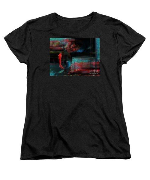Women's T-Shirt (Standard Cut) featuring the digital art Dream Catcher by Yul Olaivar