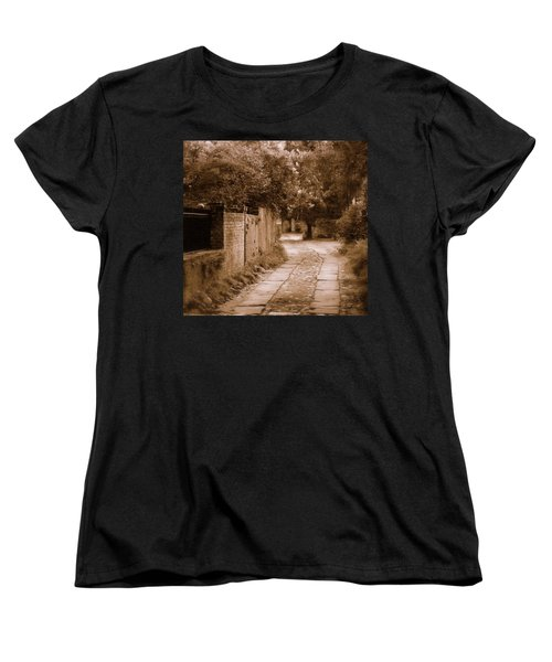 Women's T-Shirt (Standard Cut) featuring the photograph Dream Road by Rodney Lee Williams