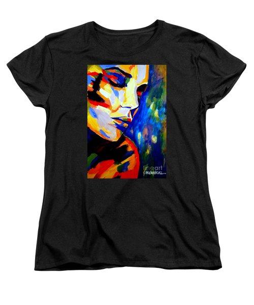 Dreams And Desires Women's T-Shirt (Standard Cut) by Helena Wierzbicki