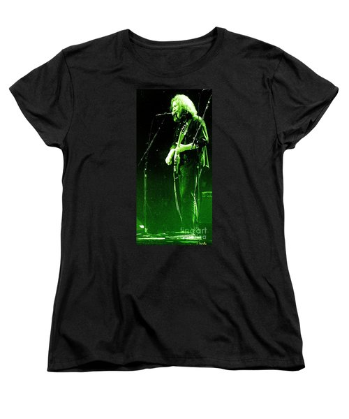 Women's T-Shirt (Standard Cut) featuring the photograph Dressed Myself In Green  by Susan Carella