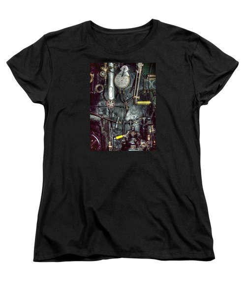 Driving Steam Women's T-Shirt (Standard Cut) by MJ Olsen