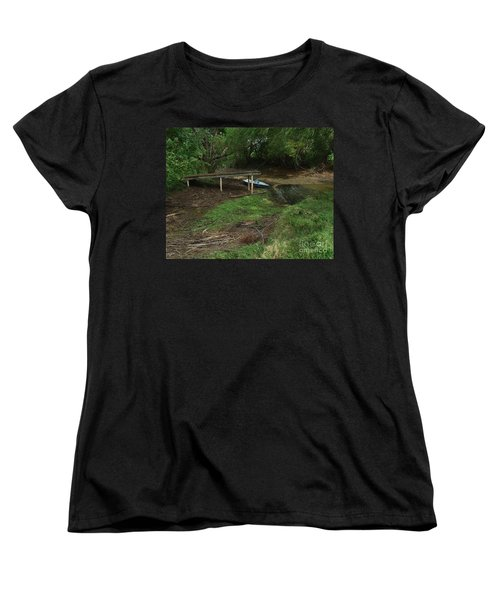 Women's T-Shirt (Standard Cut) featuring the photograph Dry Docked by Peter Piatt