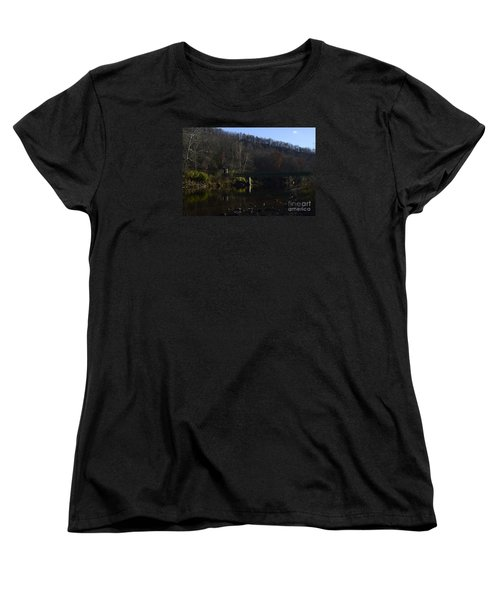 Women's T-Shirt (Standard Cut) featuring the photograph Dry Fork At Jenningston by Randy Bodkins