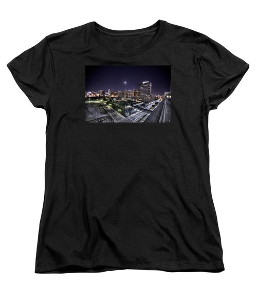 Dte In Detroit Women's T-Shirt (Standard Cut) by Nicholas  Grunas