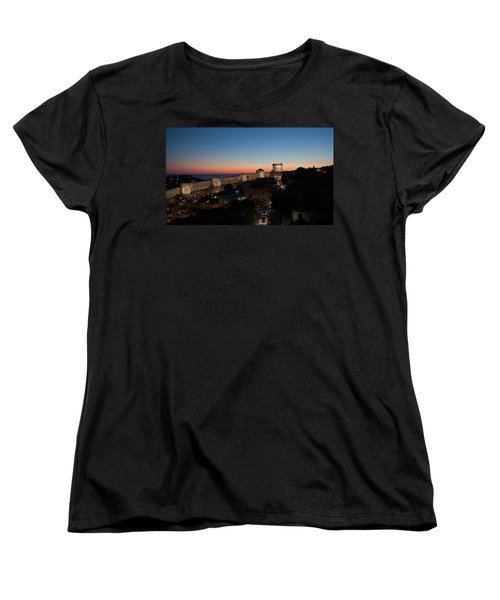 Women's T-Shirt (Standard Cut) featuring the photograph Dubrovnik by Silvia Bruno