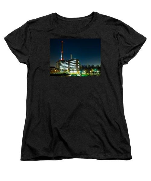 Duisburg Thyssen Krupp Factory Apostel Street Women's T-Shirt (Standard Cut) by Daniel Heine