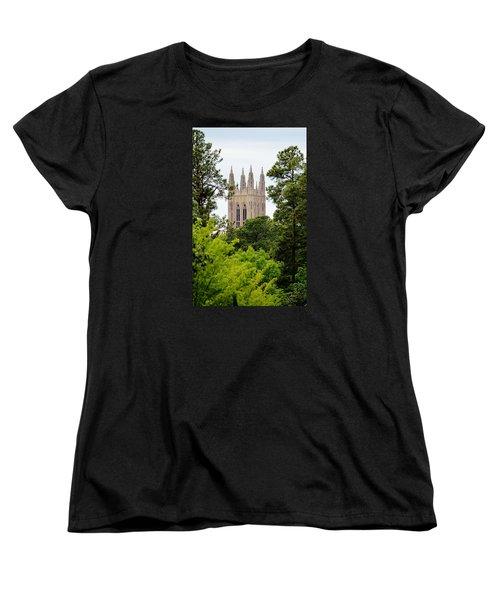 Duke Chapel Women's T-Shirt (Standard Cut) by Cynthia Guinn