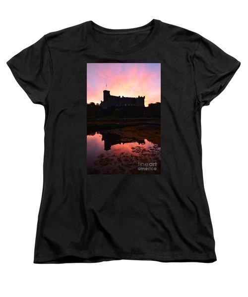 Dunvegan Castle At Dawn Women's T-Shirt (Standard Cut) by DejaVu Designs