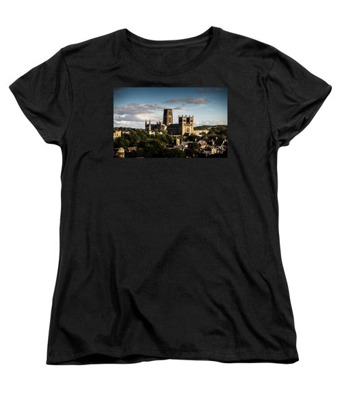 Women's T-Shirt (Standard Cut) featuring the photograph Durham Cathedral by Matt Malloy