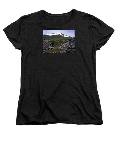 Women's T-Shirt (Standard Cut) featuring the photograph Dyatlov's Pass by Vladimir Kholostykh