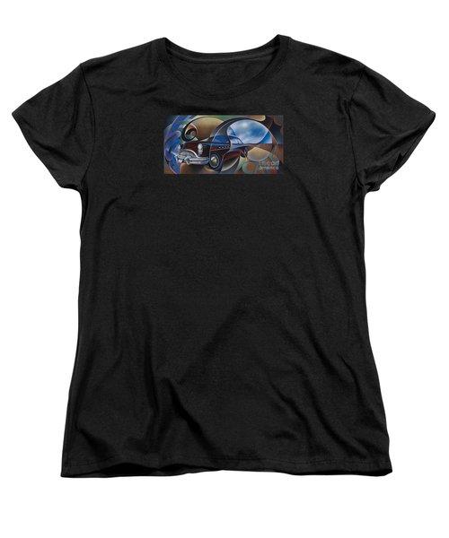 Dynamic Route 66 Women's T-Shirt (Standard Cut)