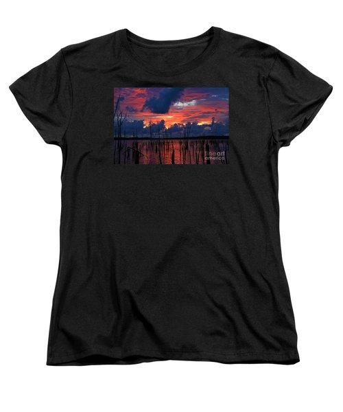 Early Light Women's T-Shirt (Standard Cut) by Roger Becker