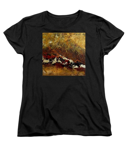 Earth Abstract Four Women's T-Shirt (Standard Cut) by Lance Headlee