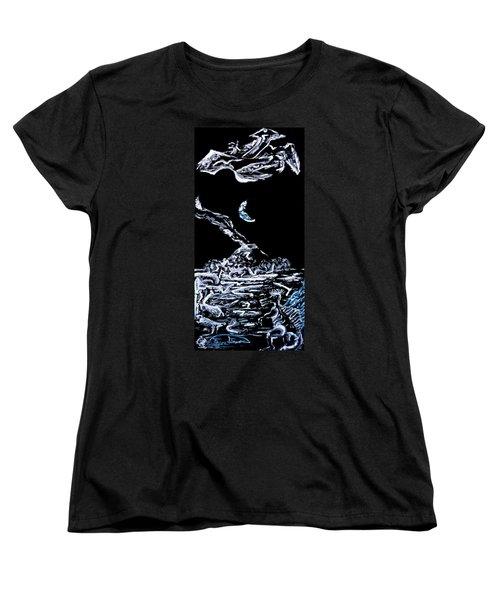 Earth Women's T-Shirt (Standard Cut) by Ryan Demaree