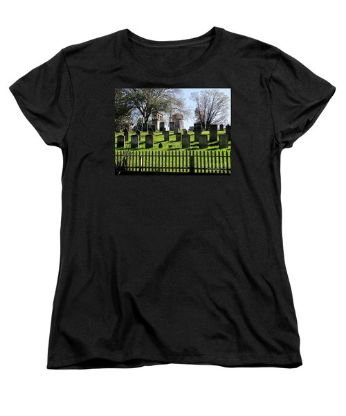 Women's T-Shirt (Standard Cut) featuring the photograph East Hampton  by Ed Weidman