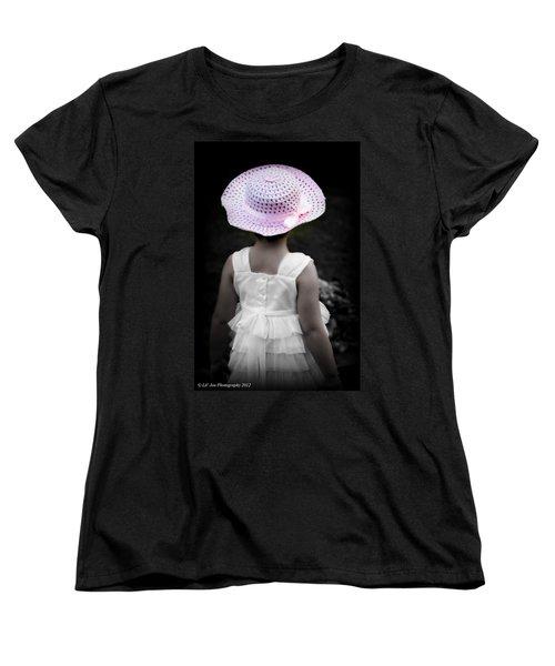 Easter Angel Women's T-Shirt (Standard Cut) by Jeanette C Landstrom