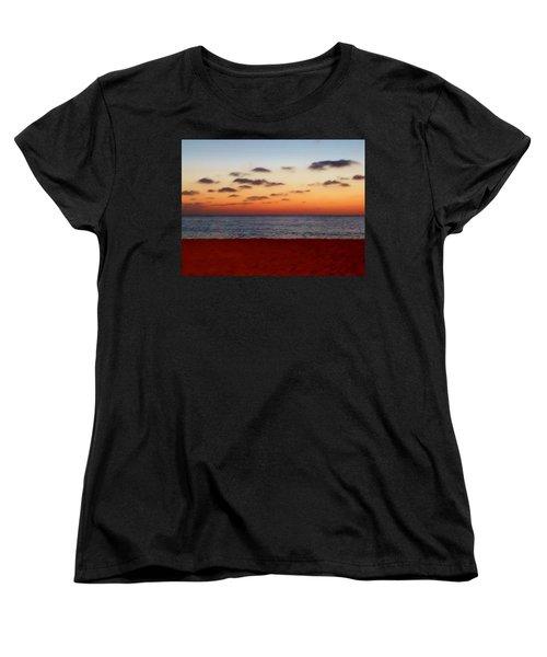 Women's T-Shirt (Standard Cut) featuring the photograph Easter Sunset by Amar Sheow
