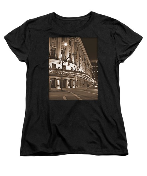 Eastman Theater Women's T-Shirt (Standard Cut) by Richard Engelbrecht