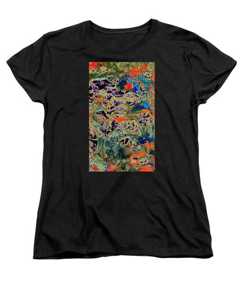 Ebb And Flow Women's T-Shirt (Standard Cut) by Jacqueline McReynolds