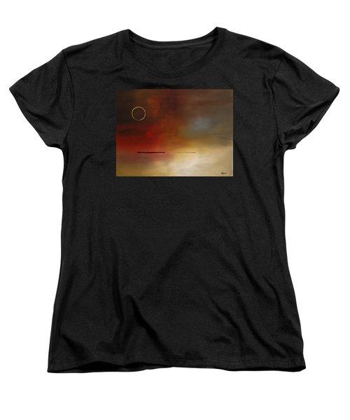Eclipse Women's T-Shirt (Standard Cut) by Carmen Guedez