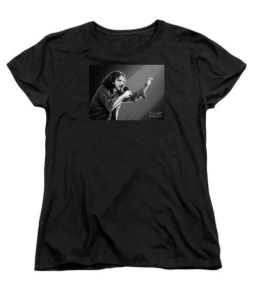 Eddie Vedder  Women's T-Shirt (Standard Cut) by Meijering Manupix