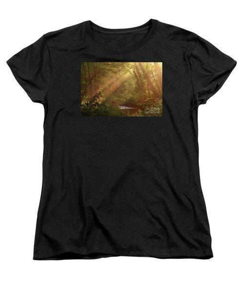 Eden...maybe. Women's T-Shirt (Standard Cut) by Douglas Stucky