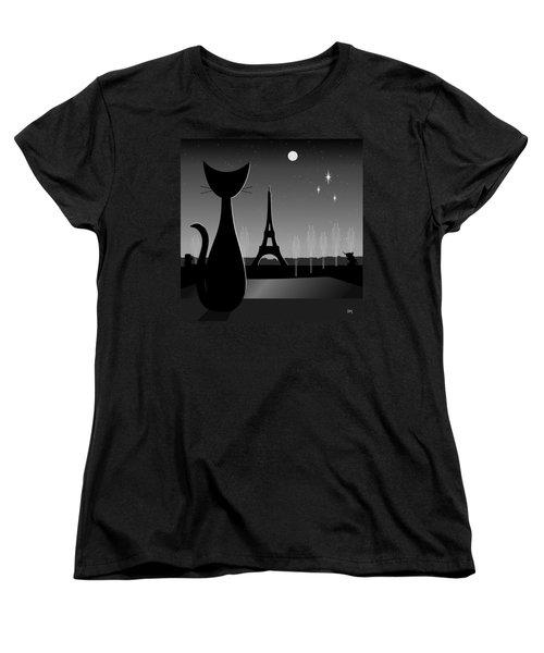 Eiffel Tower Women's T-Shirt (Standard Cut)